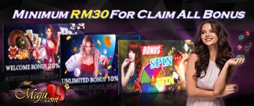 918Kiss Welcome Bonus Malaysia